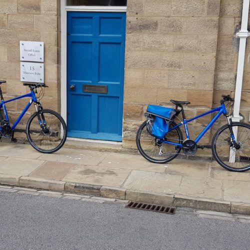 Pool Bikes at Nostell Estate