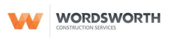 Wordsworth Construction Logo
